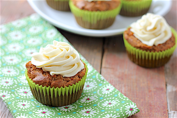 Bob's Red Mill carrot cake cupcakes