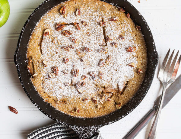 Puffed Apple Pancake for Mother's Day Brunch
