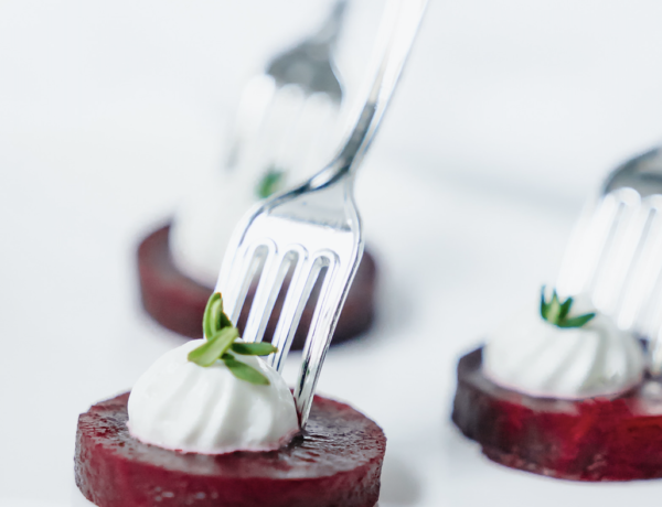 beet and goat cheese