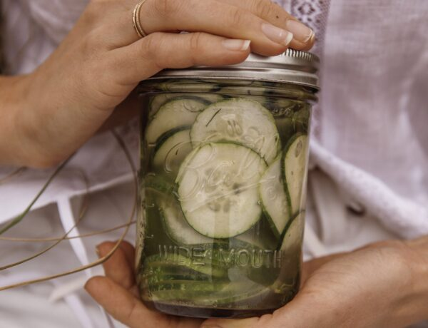 Cucumber fennel pickels