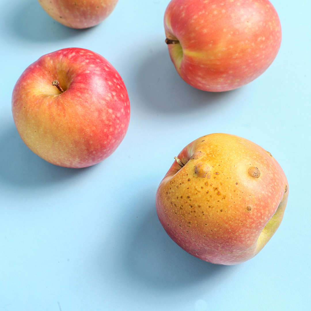 Imperfect apples