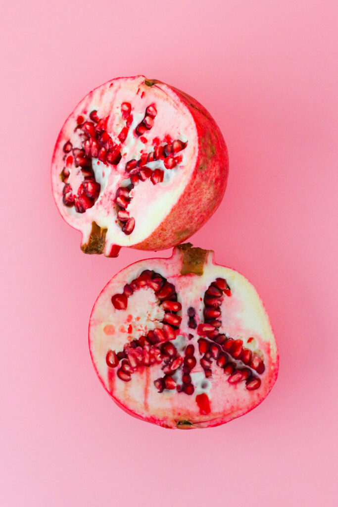 imperfect pomegranate in our winter grocery preview
