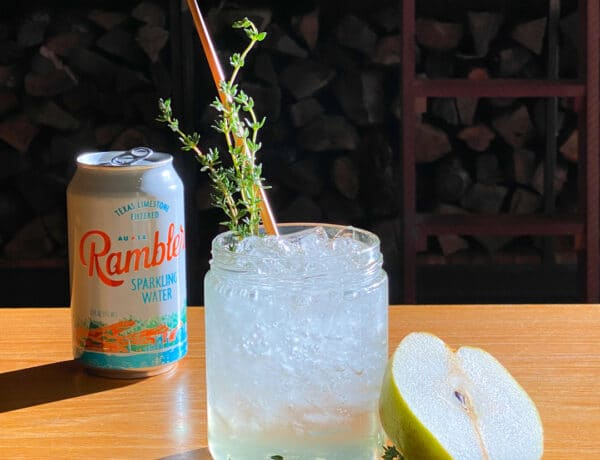 Rambler sparkling water cocktail