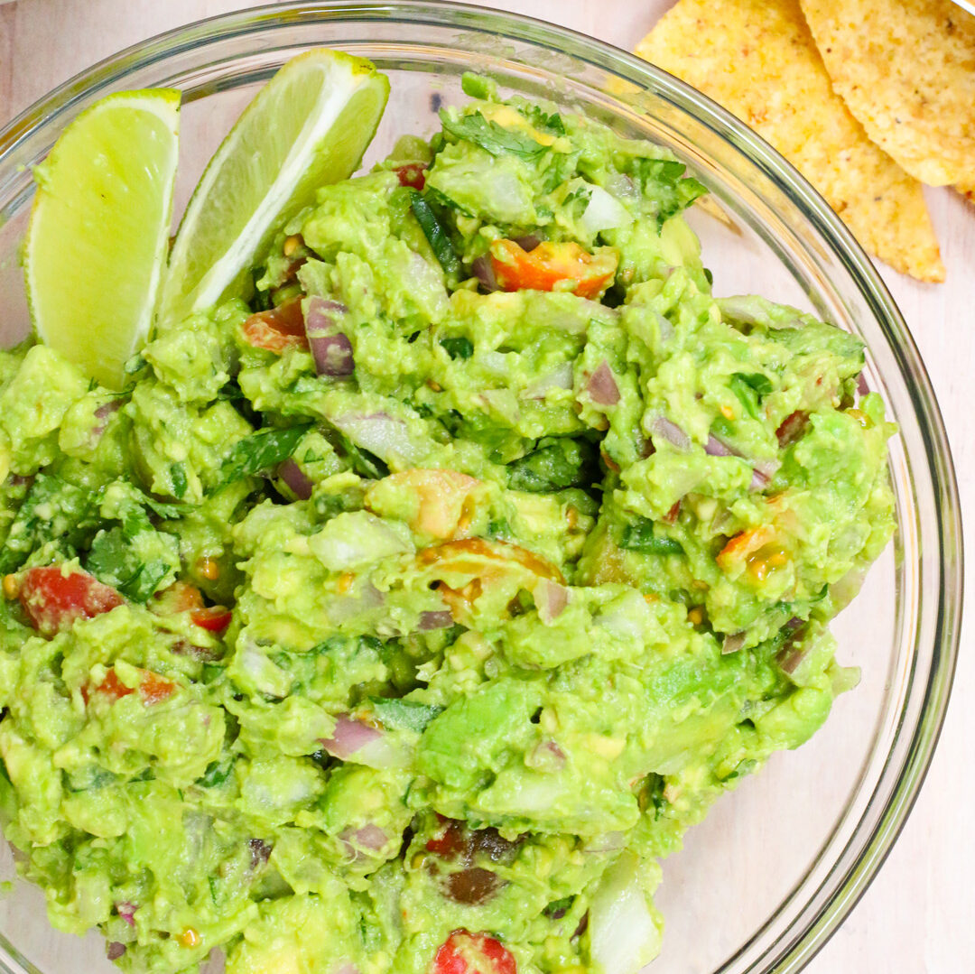 Classic Guacamole for Gameday