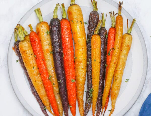 honey miso roasted carrots