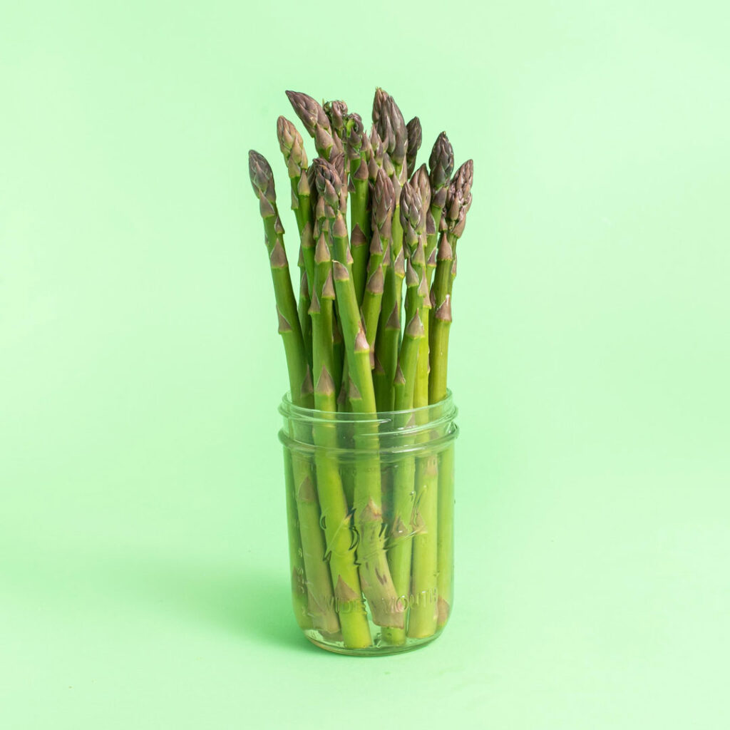 little asparagus in our spring produce