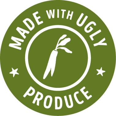 made with ugly produce badge