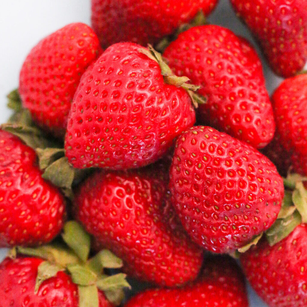 strawberries are one of the Best Fruits and Veggies to Grow with Kids