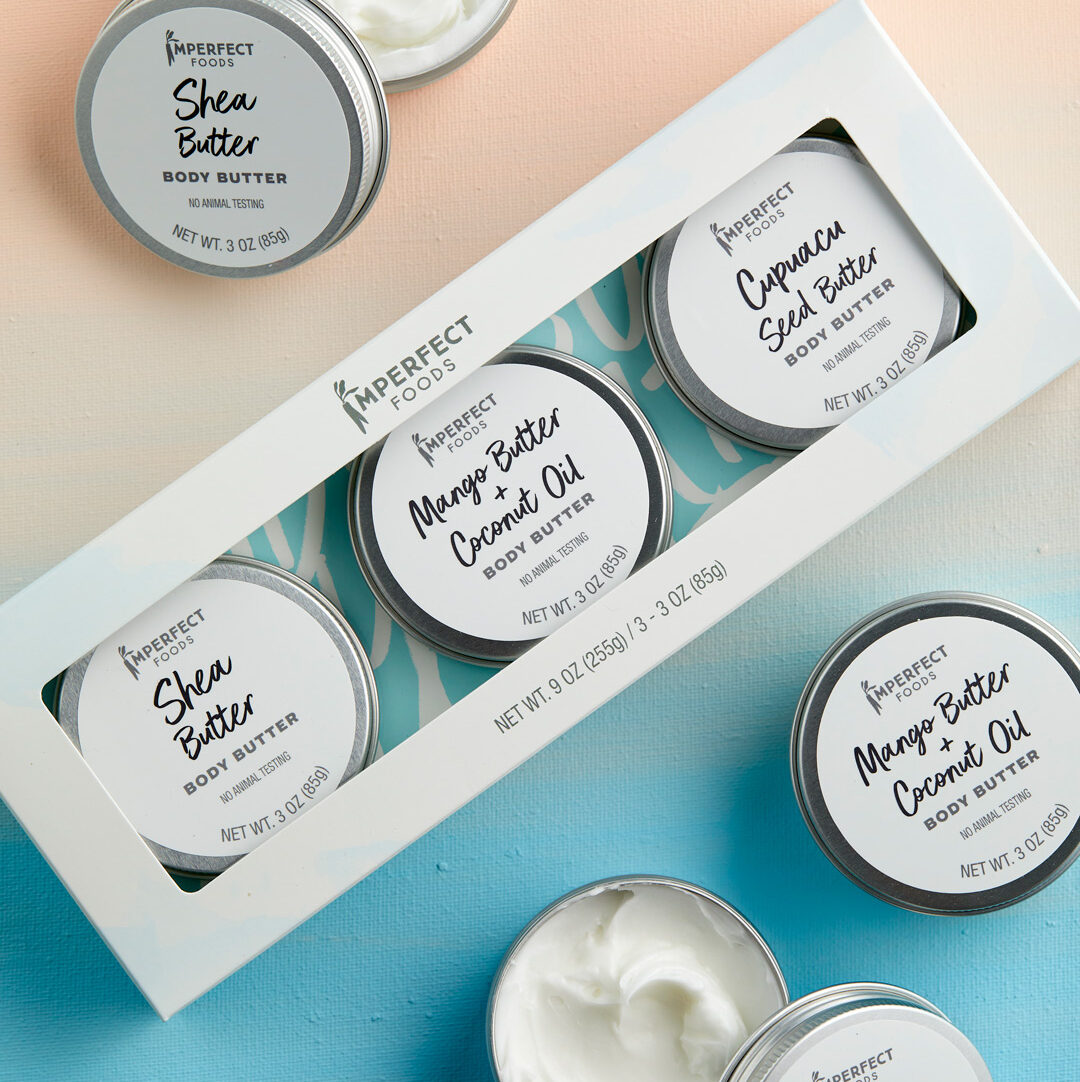 imperfect foods body butter trio