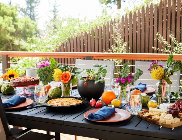 How to create a sustainable tablescape