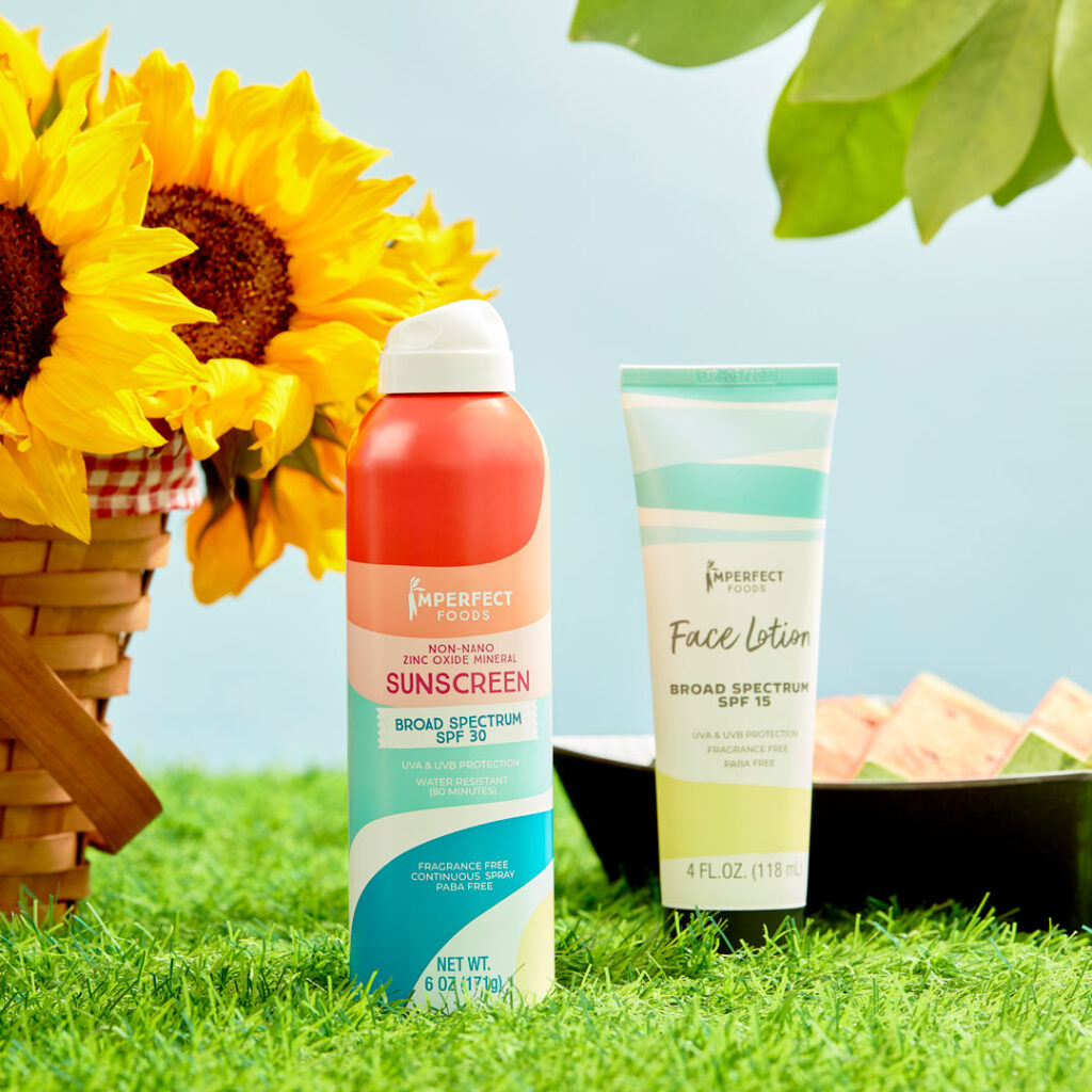 Imperfect sunscreens