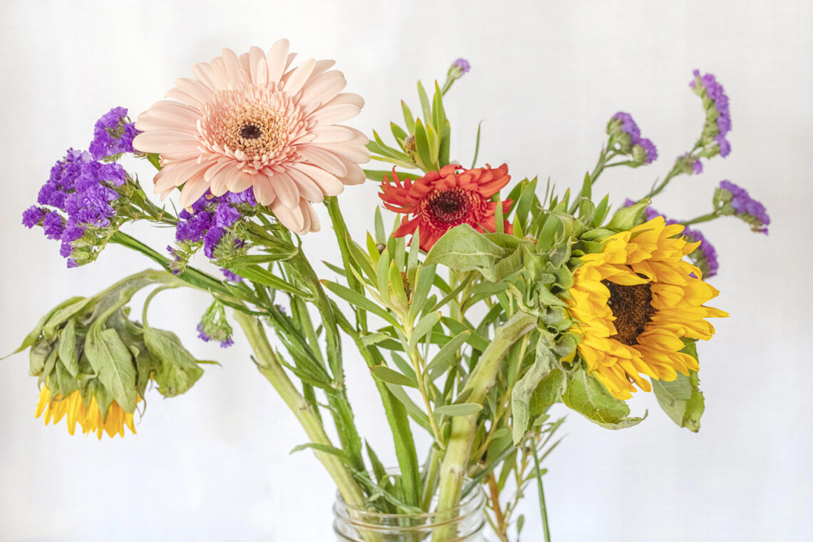 Saved Stems Flower Bouquet by Jackie Alpers