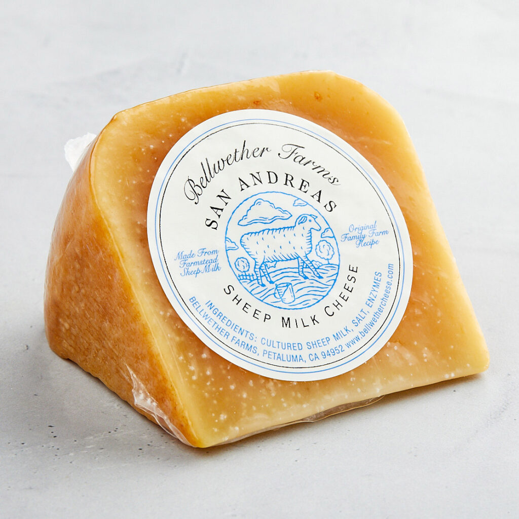 Rescued San Andreas Sheep Milk Cheese from Bellwether Farms at Imperfect