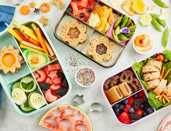 Kid friendly bento box lunches
