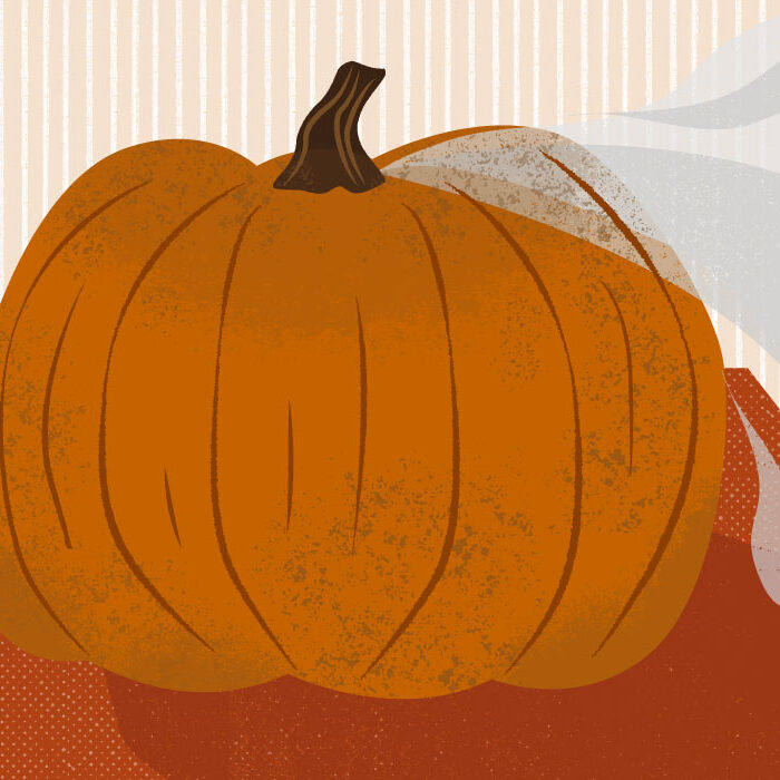 A mysteriously missing pumpkin